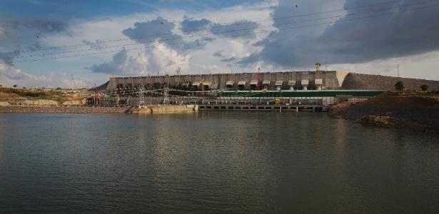 Usina hidrelétrica de Belo Monte, localizada em Altamira, no Pará