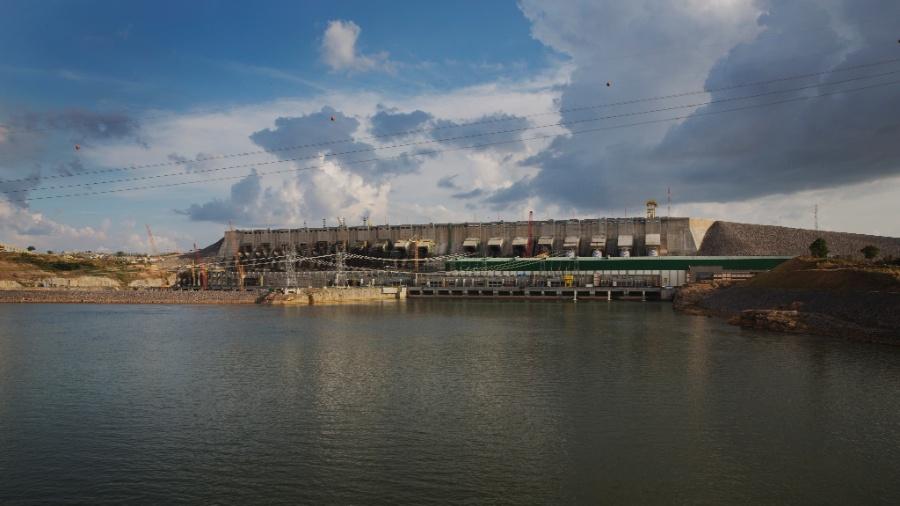 Usina hidrelétrica de Belo Monte, localizada às margens da rodovia Transamazônica, no Pará - Lalo de Almeida/Folhapress