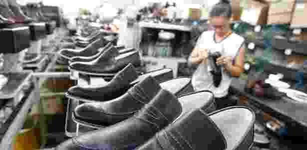 Franca, no interior de São Paulo, é um polo de produção de calçados - Edson Silva/Folhapress