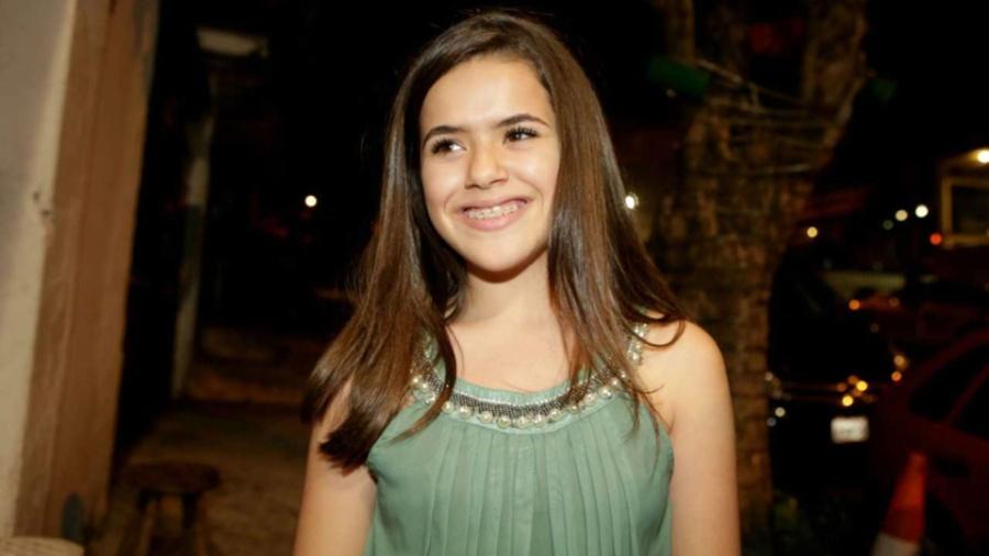 A atriz e agora apresentadora Maisa Silva, do SBT  - Greg Salibian/Folhapress