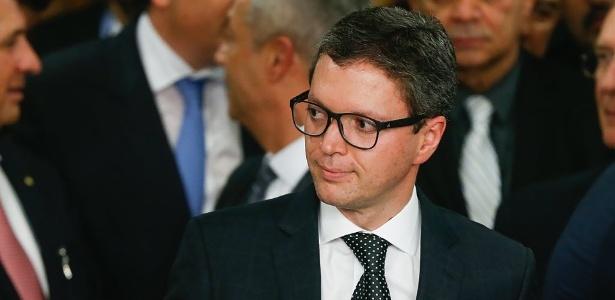 O ex-ministro Fabiano Silveira, que entregou sua carta de demissão na segunda-feira (30)