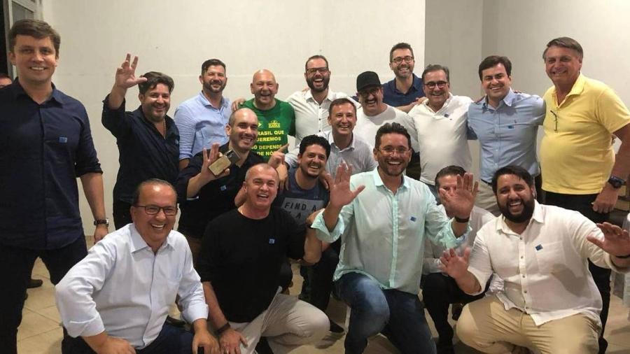 Jair Bolsonaro em evento em Santa Catarina - Arquivo Pessoal
