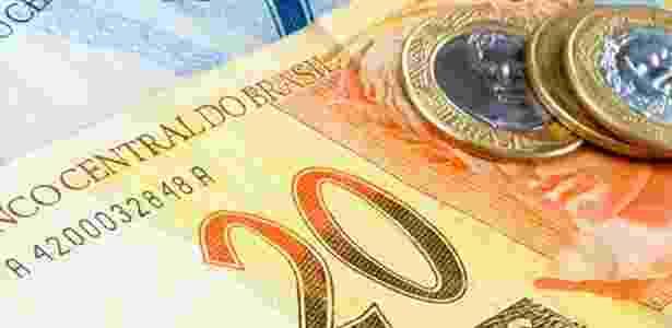 Dinheiro; real; notas de real; moedas; economia brasileira; - Thinkstock - Thinkstock