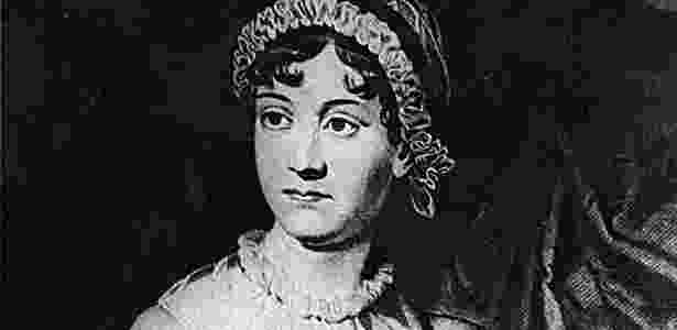 A escritora inglesa Jane Austen - Reprodução
