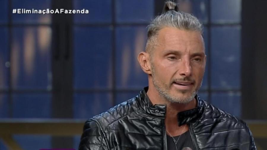 A Fazenda 2020: Juliano Ceglia em noite de eliminação - Reprodução/RecordTV