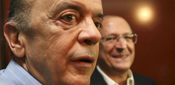 O senador José Serra e o ex-governador Geraldo Alckmin, do PSDB - Silvia Zamboni/Folhapress