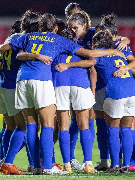Brasil goleia o Equador por 8 a 0 em último amistoso da seleção feminina em 2020 - Mariana Sá / CBF
