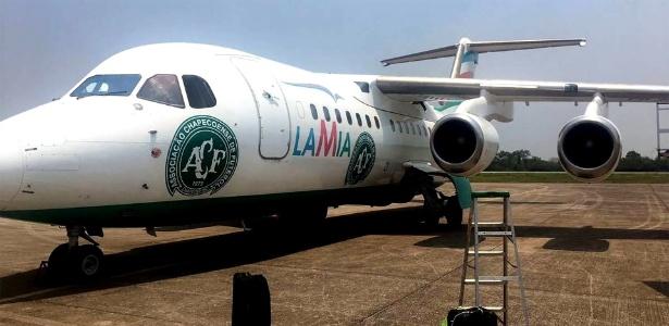 Avião da Lamia caiu na Colômbia vitimando 71 pessoas entre jornalistas e delegação da Chapecoense - Reprodução