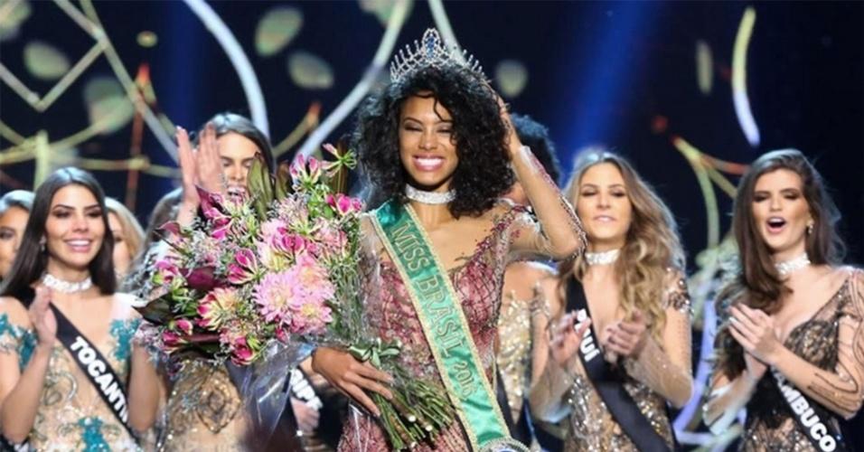 Miss Brasil  Raissa Santana, representante do Paraná, vence o Miss Brasil