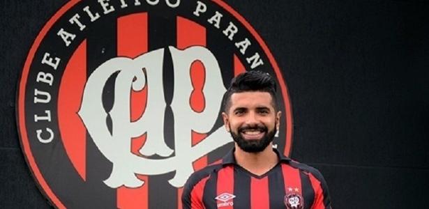 Guilherme jogou uma partida inteira com a camisa do Atlético pela primeira vez