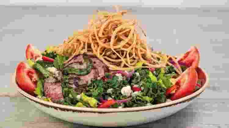 Steak Salad, do Hard Rock Cafe - Divulgação/Hard Rock Cafe - Divulgação/Hard Rock Cafe