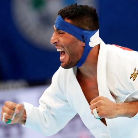 Saeid Mollaei, judoca iraniano - Reuters