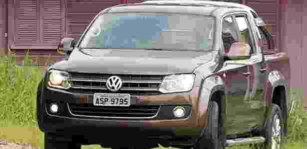 Com fraude na Amarok a diesel vendida no Brasil, VW terá de pagar multa e definir recall - Murilo Góes/UOL
