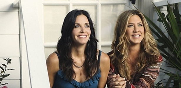 """Courteney Cox e Jennifer Aniston são amigas inseparáveis desde que trabalharam juntas em """"Friends"""" - Reprodução"""