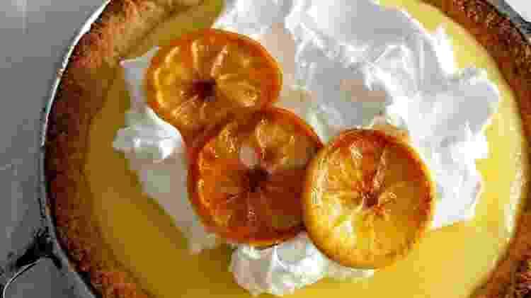 Torta de limão com merengue - Reprodução/@pimenta_preta - Reprodução/@pimenta_preta