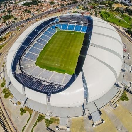 Vista aérea da Arena das Dunas - Divulgação/Site Oficial