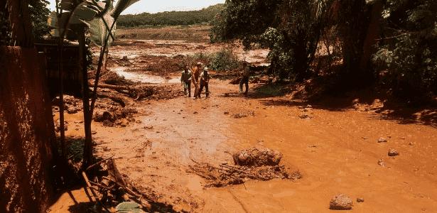 """""""Grave tragédia"""", diz Bolsonaro sobre rompimento de barragem da Vale em Brumadinho (MG) - Divulgação - Divulgação"""