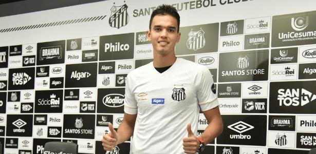 Felipe Aguilar pertencia ao Atlético Nacional, da Colômbia, antes de chegar ao Santos -  Ivan Storti/Santos FC