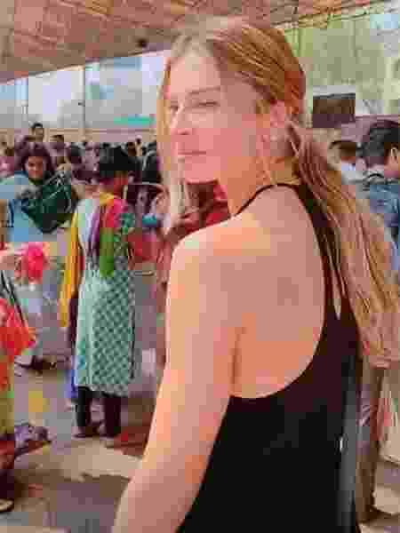 Stories de Grazi pela Índia - Reprodução/Instagram @massafera