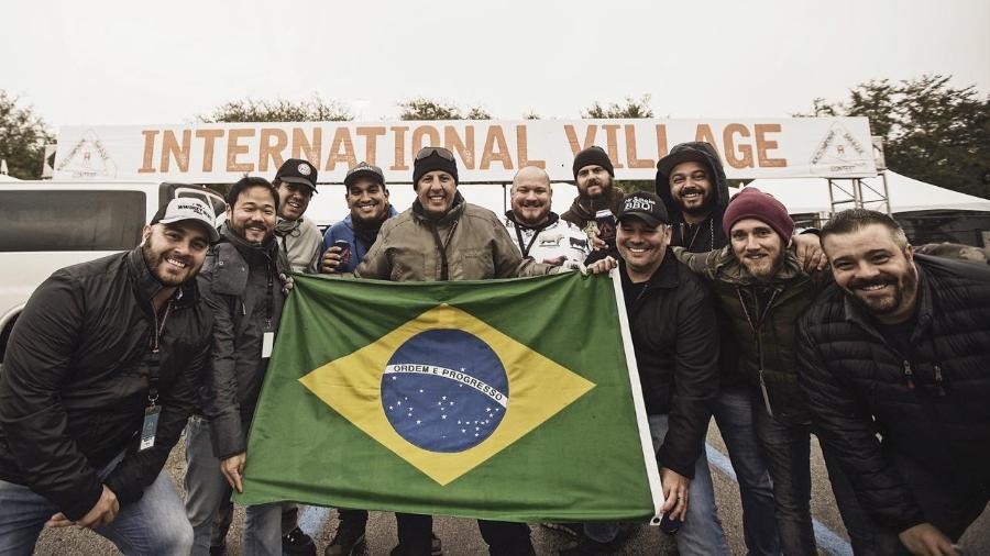 A equipe da Pitmasters Brasil, representando o país no evento - Divulgação
