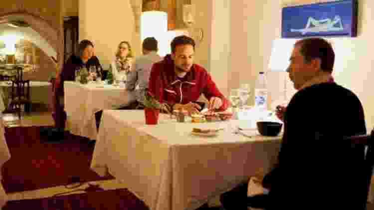 O Fawda foi concebido para levar a culinária palestina além dos restaurantes que se atêm aos métodos e apresentações tradicionais - Tessa Fox