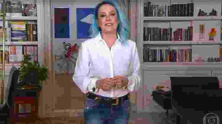 Ana Maria Braga - Reprodução/TV Globo - Reprodução/TV Globo