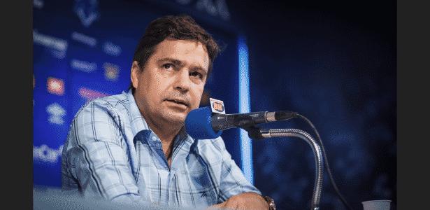 Vice-presidente de futebol foi afastado de realizar suas funções no Cruzeiro - Vinnicius Silva/Cruzeiro