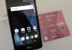 LG K4 Novo é um celular para quem precisa gastar pouco e usar redes sociais (Foto: Márcio Padrão/UOL)