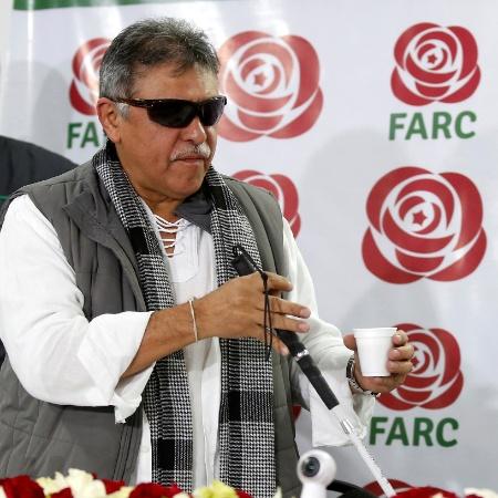Governo colombiano de Iván Duque sustenta que Santrich (foto) e Márquez se escondem na Venezuela - Jaime Saldarriaga/Reuters