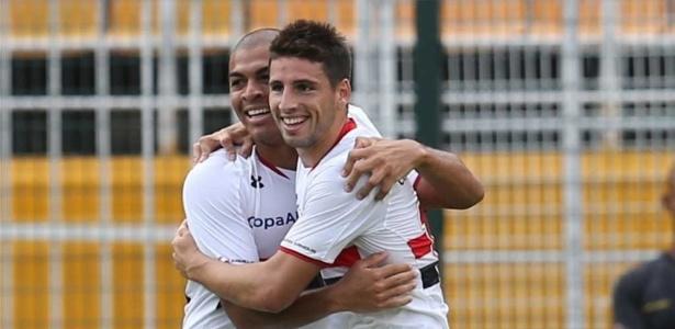 Calleri marcou três gols em duas partidas com a camisa do São Paulo