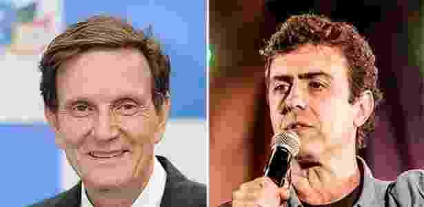 Marcelo Crivella e Marcelo Freixo - Montagem UOL - Montagem UOL