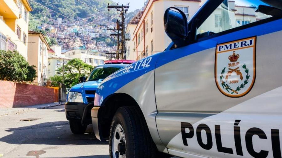 Polícia Militar do Rio de Janeiro - Getty Images