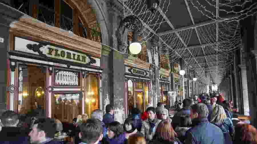 O Caffé Florian é uma atração famosa em Veneza, na Itália - iStock