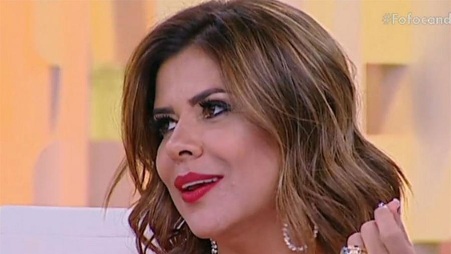 Mara Maravilha no Fofocando, no SBT - Reprodução/SBT.com.br