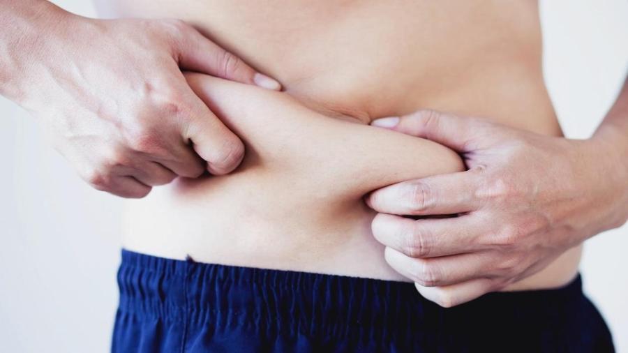 Pacientes com obesidade abdominal tiveram resultados significativamente maiores (média 9) em comparação com aqueles sem obesidade abdominal (média 6) - iStock