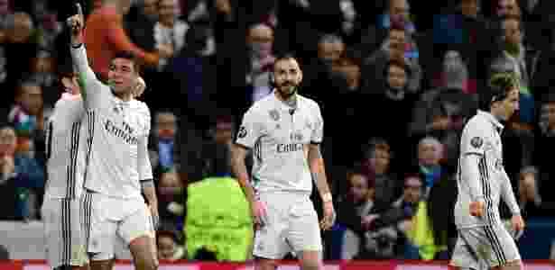 Casemiro deu belo passe e ainda marcou o gol da vitória do Real Madrid no sábado - AFP