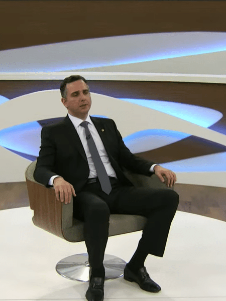 Rodrigo Pacheco em entrevista ao Roda Viva 01/03/2021 - Reprodução/Youtube Roda Viva