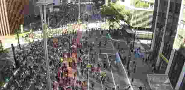 Primeiro teste da avenida Paulista aberta para o lazer aconteceu em 28 de junho - TF2 Drone/Via WhatsApp