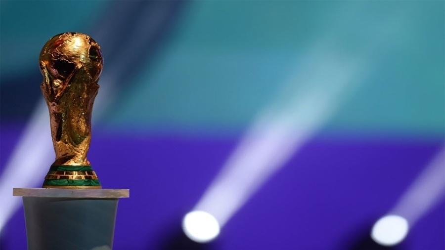 O troféu da Copa do Mundo Fifa - AFP PHOTO / VANDERLEI ALMEIDA