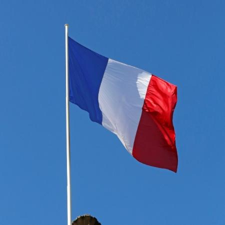 Imagem de bandeira da França; investigação foi aberta para apurar as causas do acidente - Jacky Naegelen/Reuters