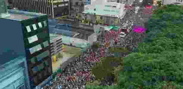 Carnaval de rua vem se tornando mais popular em São Paulo - Marcos Camargo/UOL
