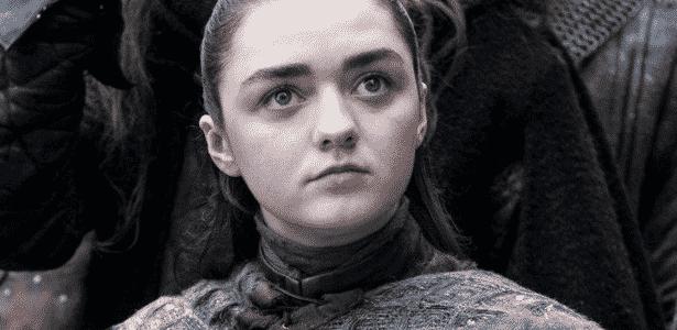 """Arya Stark (Maisie Williams) em """"Game of Thrones"""" - Divulgação - Divulgação"""