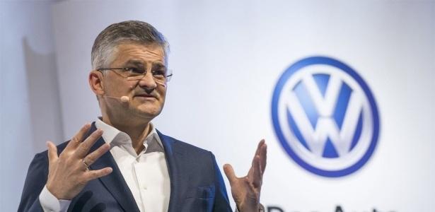 Michael Horn, presidente da Volkswagen EUA, em lançamento feito em agosto - Darren Ornitz/Reuters