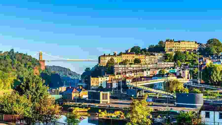 Aldeia de Clifton, em Bristol, Inglaterra  - Getty Images/iStockphoto