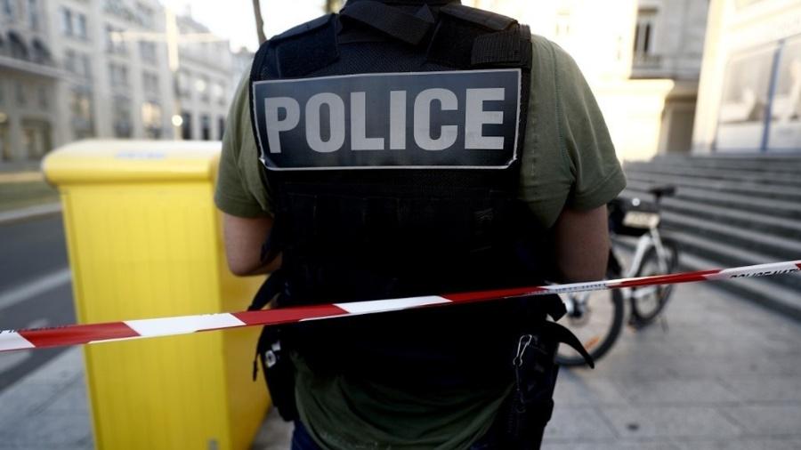 Policia da França, assalto em agência bancária - Sameer Al-Doumy