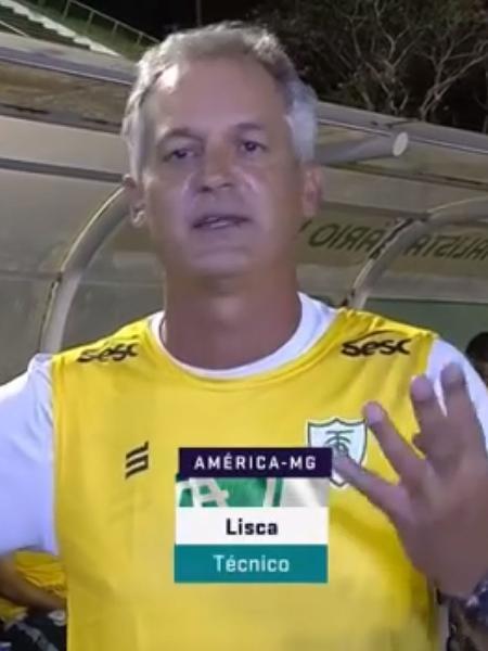 """Lisca questiona tabela da Copa do Brasil e critica CBF por jogos na pandemia: """"É hora de segurar a vida"""" - Reprodução/ Premiere"""