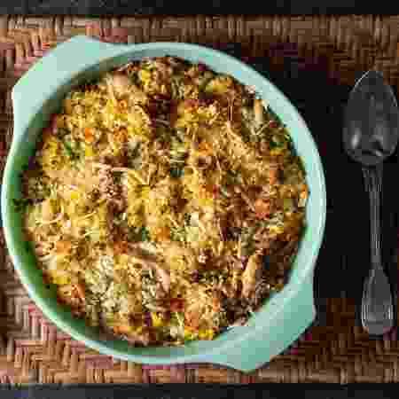 Arroz de forno com frango e legumes - Ana Bacellar - Ana Bacellar