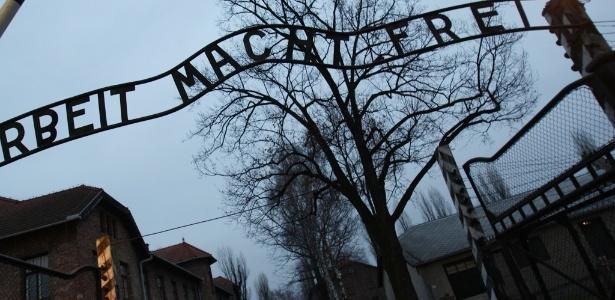 Campo de concentração Auschwitz, na Polônia