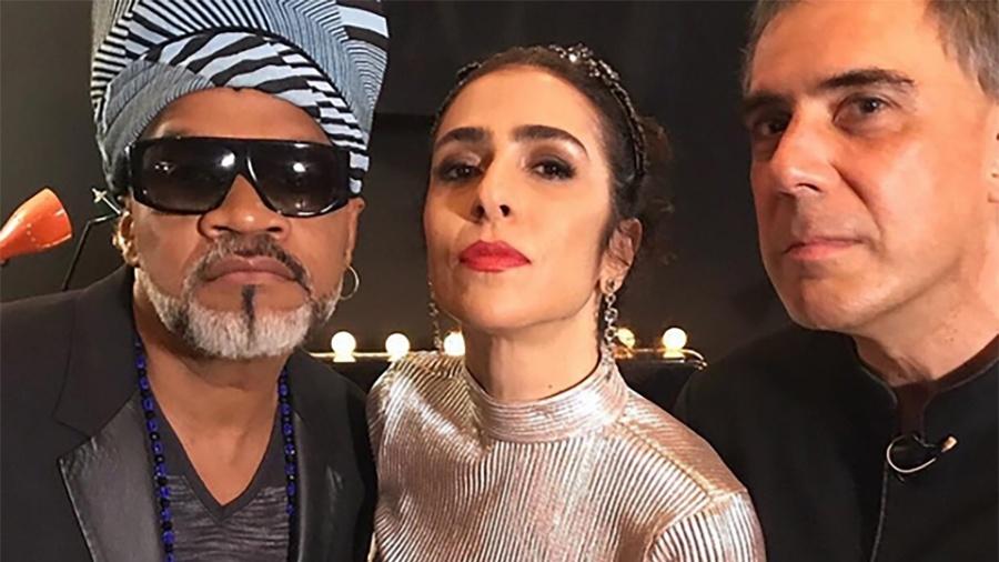 Carlinhos Brown, Marisa Monte e Arnaldo Antunes, os Tribalistas - Divulgação/Instagram