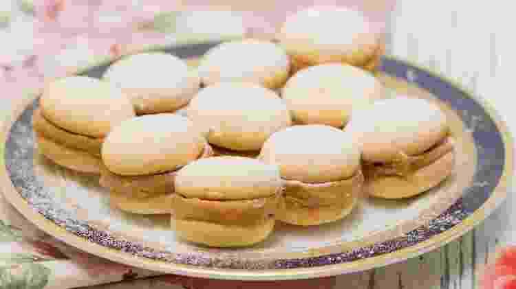Biscotinhos bem casados  - Reprodução/@luoliveira71 - Reprodução/@luoliveira71